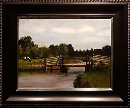 Landschap met koeien en brug-2.jpg