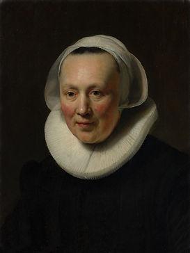 Rembrandt-Portret van een vrouw 30 x 40