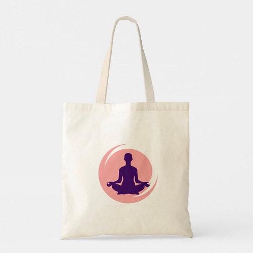 Ananda Yoga Studio Logo Tote Bag