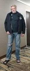 Homeless Veteran - Before Photo