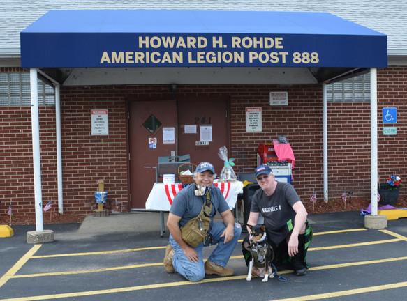 Patrick & Ziggy - K9s for Veterans Food Drive 5/30/20