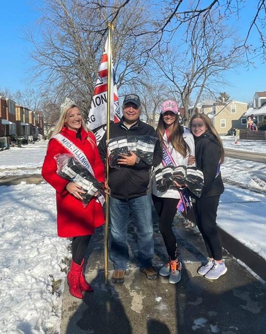 Tiffany, Mike, Jordan & Daughter