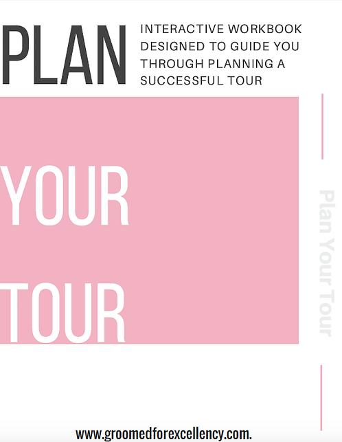 Plan Your Book Tour Workbook