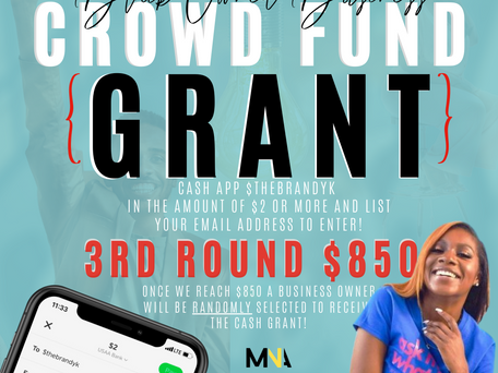 2020 Black Owned Business Crowd Funding Grant Campaign