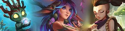Samina Synchron Games League of Legends Runeterra