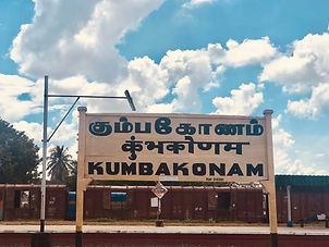 Just left Swamimalai where I will host m