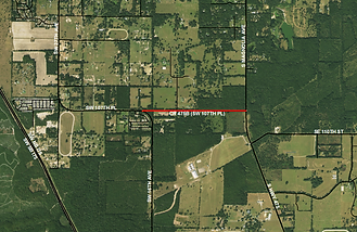 Southwst 107th Place/County Road 475B