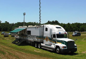 Sheriff mobile command unit