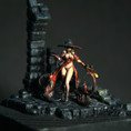 Silver-Witch in Dungeon