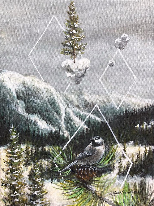 Chickadee of the Mountain