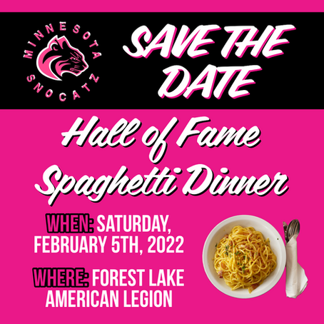 Save the Date - Hall of Fame Dinner