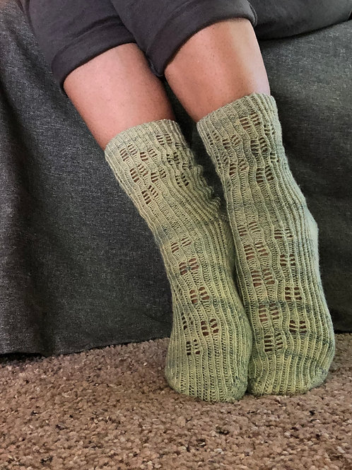 Celery Stalk Socks