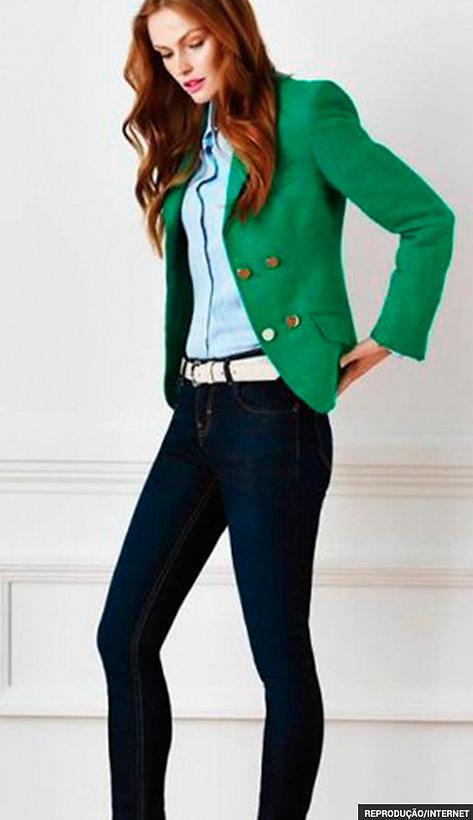 280c93d41 Combo perfeito para dias nem tão frios e nem tão quentes  jeans skinny e  blusa de tecido leve. O segredo