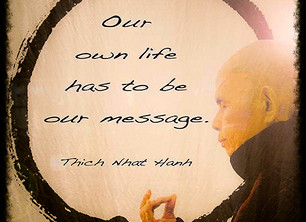 Our Life is Our Message