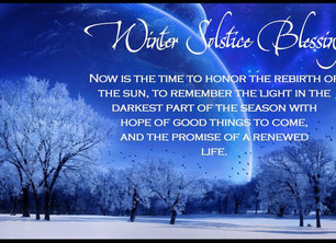 The Light of the Winter Solstice
