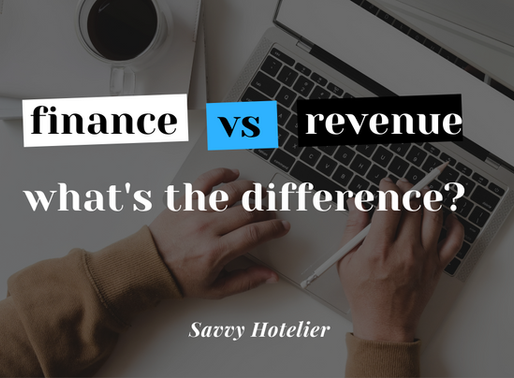 Finance vs Revenue - What's The Difference?