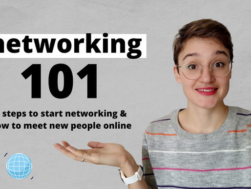 4 Steps To Start Networking Today for Students | Networking 101