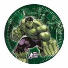 Avengers 20cm Multi Hero Plates
