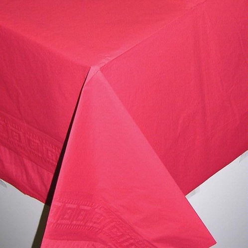Red Tablecover