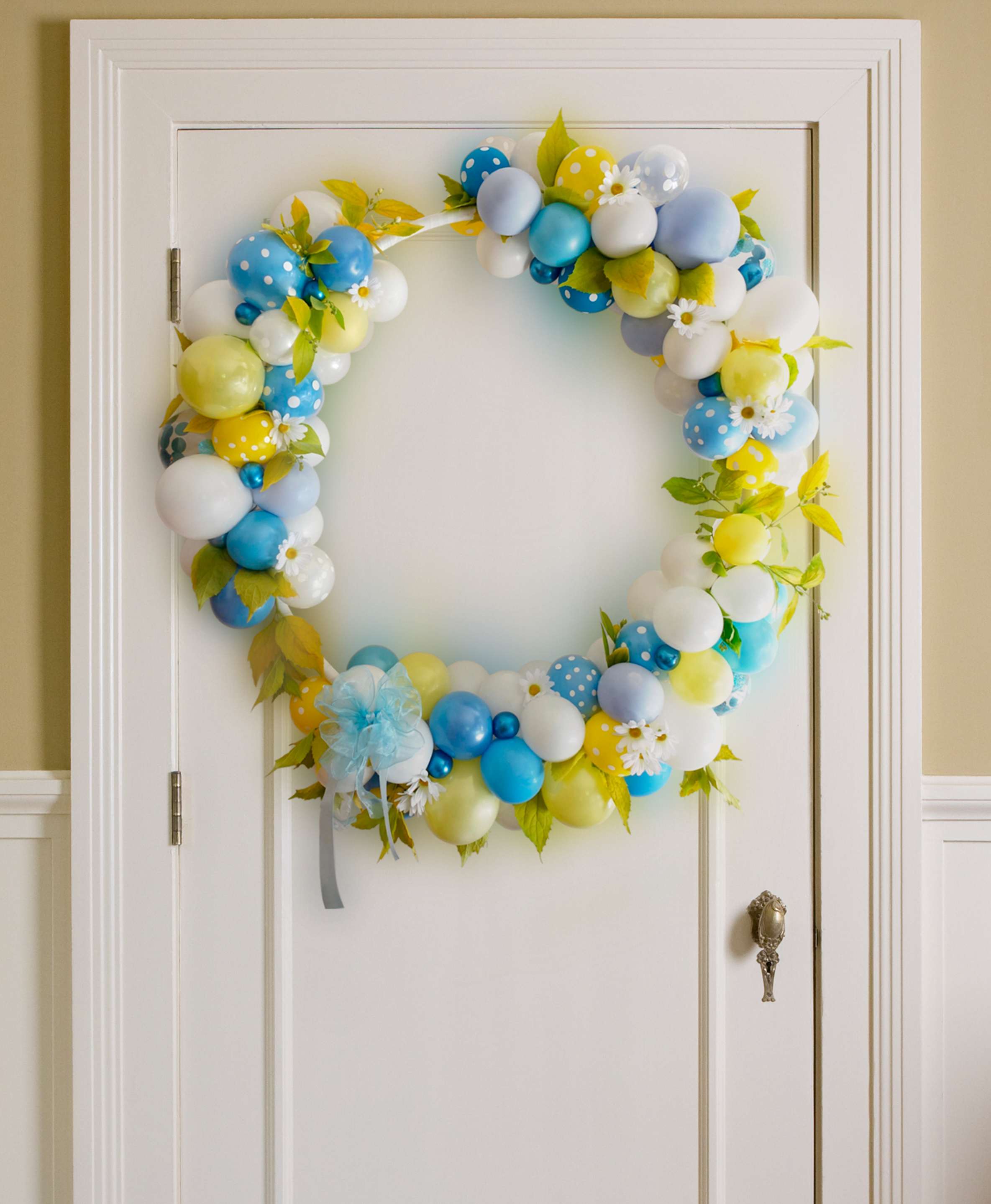 Hoop on the Door Yellow and Blue