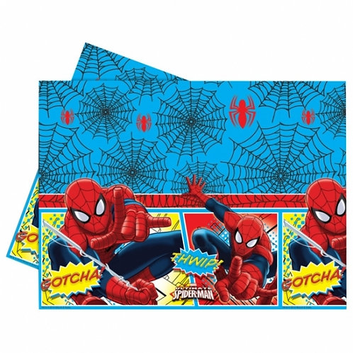 Ultimate Spiderman Party Tablecover