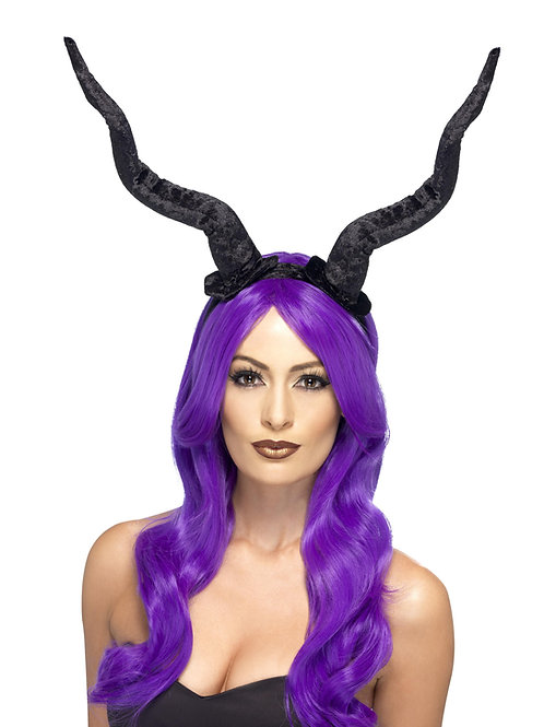 Demon Horns on Headband