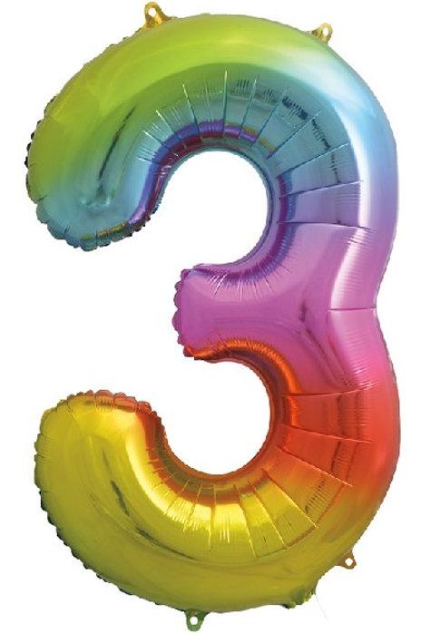 Rainbow Big Numbers