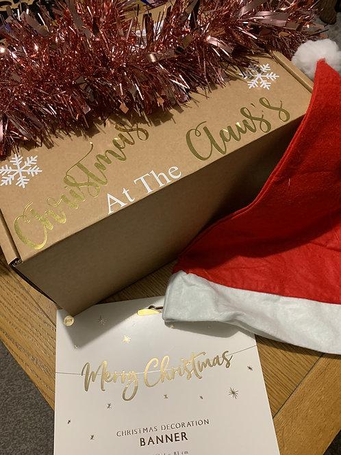 Virtual Personalised Christmas Party Box