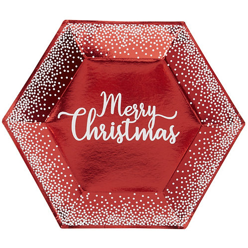 Red & White Christmas Tableware Range