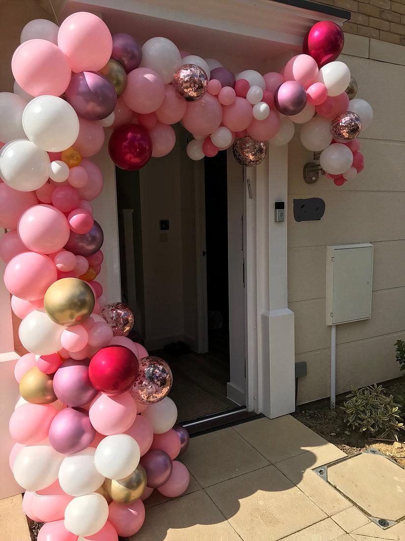 Organic Pinks Arch