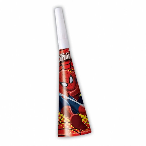Ultimate Spiderman Cone Party Horns Pk6