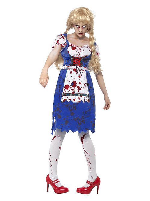 Zombie Bavarian Adult Women's Costume