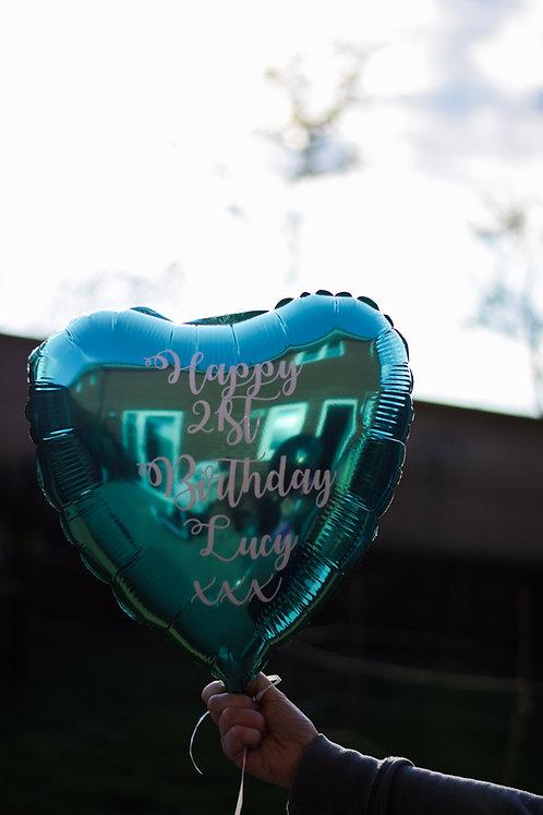 Vinyl Personalised Foil Balloon