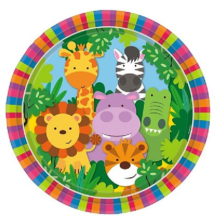Jungle Friends Plates