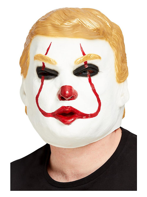 Clown President Overhead Mask