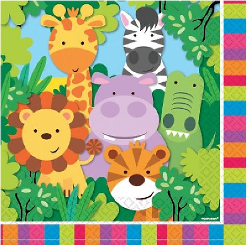 Jungle Friends Napkin