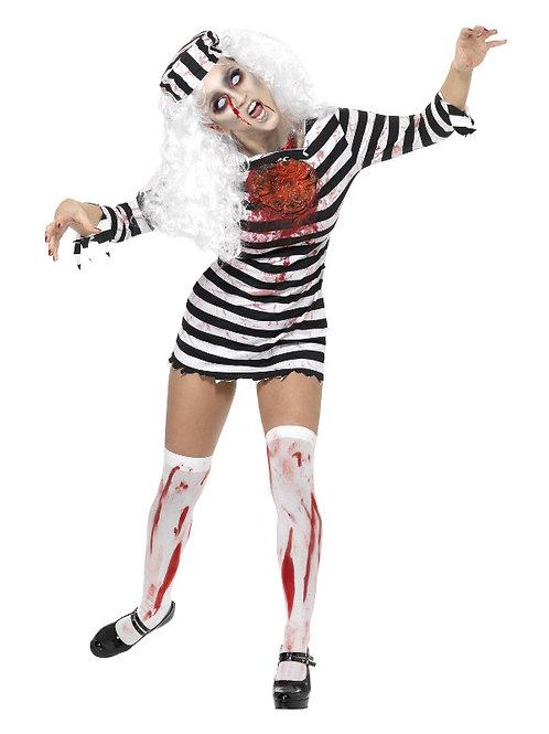 Zombie Convict Women's Adult Costume
