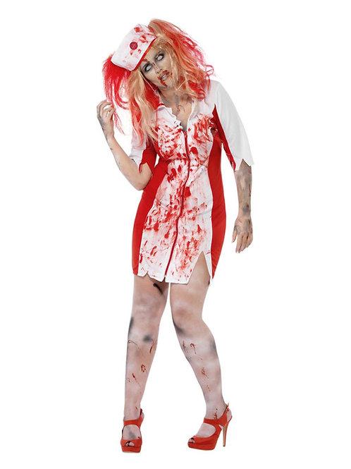 Curves Zombie Nurse Costume