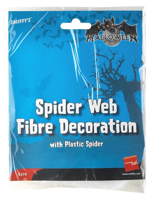 Spider Web Fibre Decoration