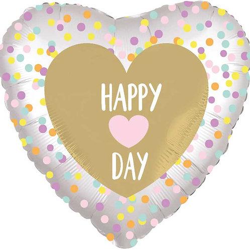 Happy Day - Foil Balloon