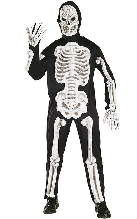 Adult Mens Skeleton Costume