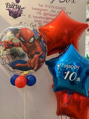 Personalised Spiderman Star Combo