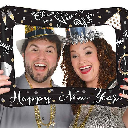 Happy New Year Selfie Frame