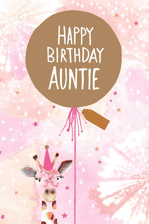 Happy Birthday Auntie