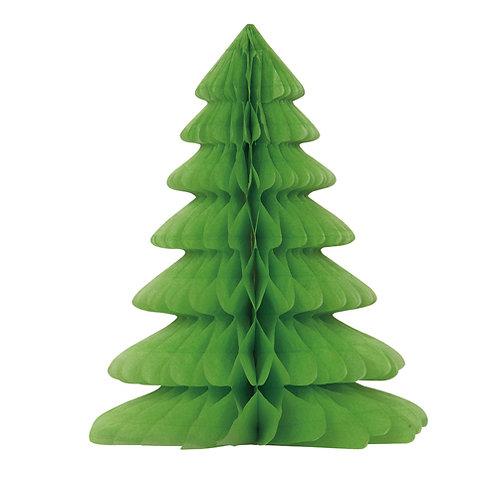 Christmas Tree Honeycomb Decoration