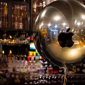 #corporateevents #orbz #chromeballoons #
