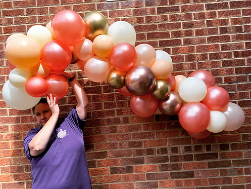 Balloon Garlands Inflated for Store Pick Up