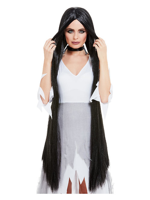 Halloween Long Black  Wig