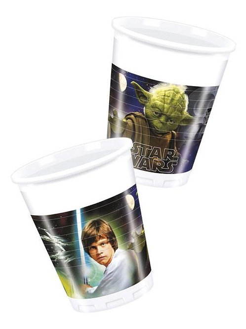 Star Wars Party Paper Cups Pk8