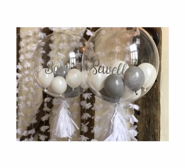 Baby Shower grey & white